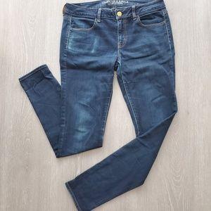 American Eagle Dark Wash Jegging Stretch Jeans